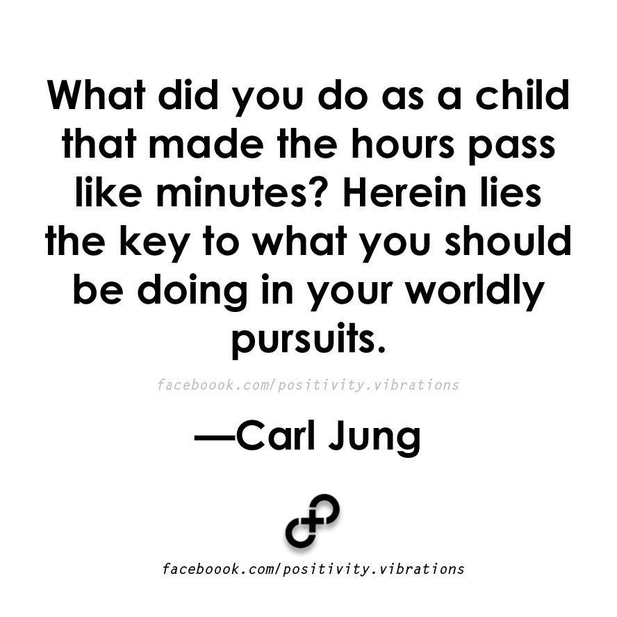 What You Did As a Child