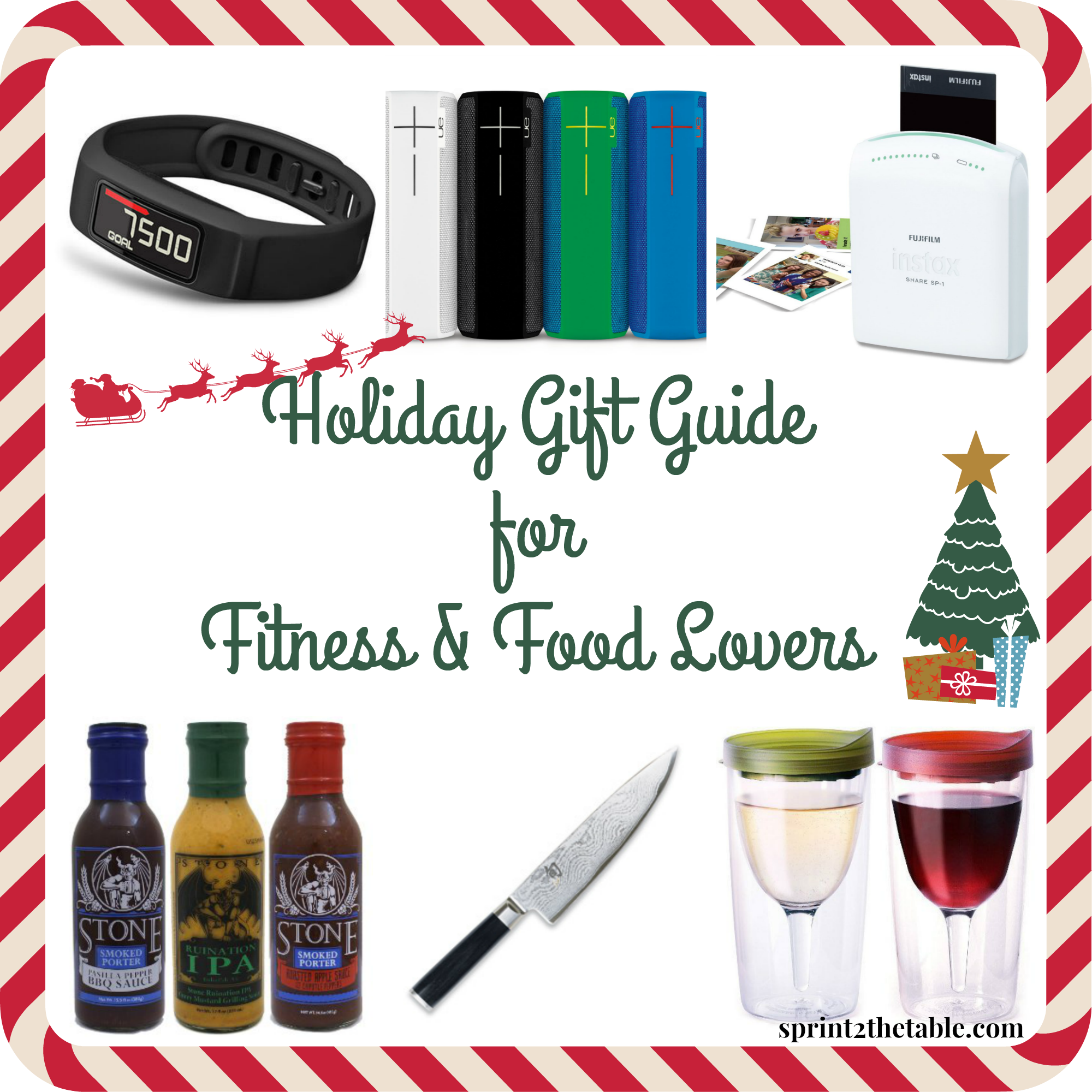 Holiday gift guide for fitness and food lovers sprint 2 Christmas gift ideas for cooking lovers