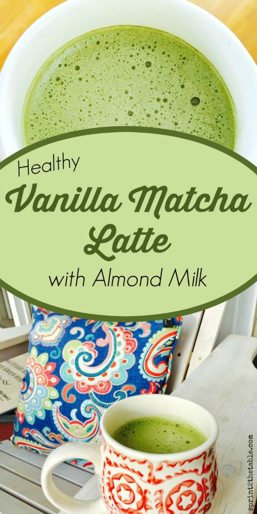 How To Make An Almond Milk Matcha Latte From Home
