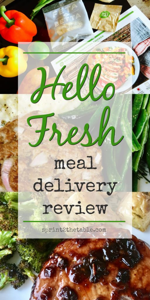 Meal Kit Delivery Service Exchange Offer 2020