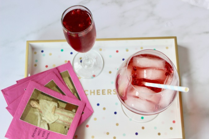 Not only is this Pomegranate Aperol Spritz cocktail delicious and nutritious, but it's also a party in a glass.  The colorful pomegranate seeds dance in the glass thanks to the carbonation!